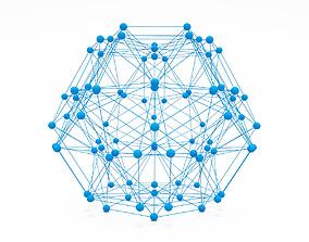hexagon Futuristic Polygonal Shape 3D Printing Model
