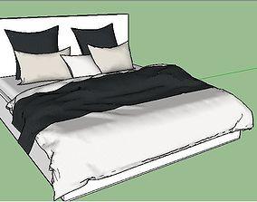 3D asset Bed model