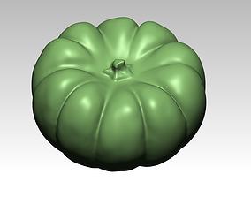 Download STL format of pumpkin 3D drawing