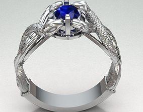 3D printable model RING SNAKE REF-109