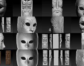 mask pack 3D model