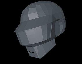 Daft Punk Thomas helmet 3D model
