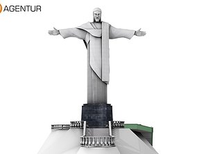 3D Christ the Redeemer Brasil