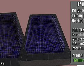 Swimming Pool 3D model realtime PBR