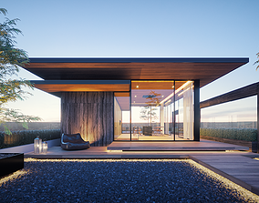 3D print model Rooftop House Design