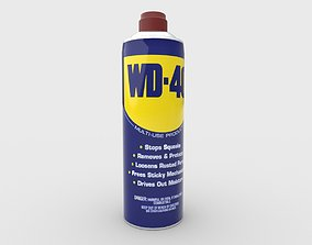 3D WD 40 Spray Can