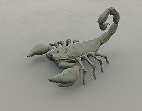 3D printable model miniatures Scorpion