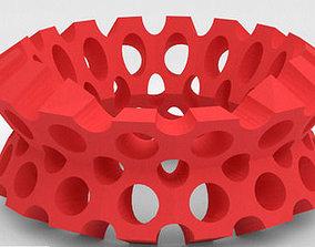 3D printable model Holes bracelet