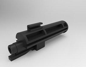kwc uzi - nozzle housing 3D print model