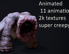 horror monster ANIMATED AAA 3D model