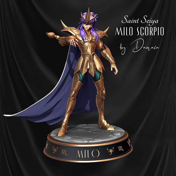 Saint Seiya: Milo / Scorpio