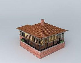 3D model Tiny Bungalow