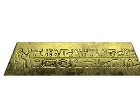 3D asset Gold Bar