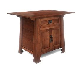 Craftsman End Table 3D