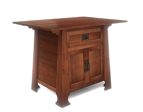 Craftsman End Table 3D