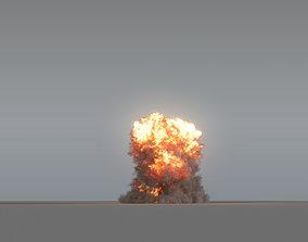 Explosion 02 - VDB 3D model