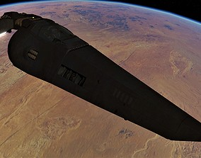 WIPE OUT - SYSTEMS D SPACE FIGHTER 3D asset