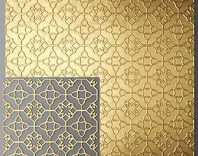 Lattice Arab panel 3D 2