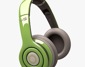 Beats Solo HD Headphone 001 3D model