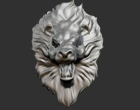 Lion Head 4 3D printable model