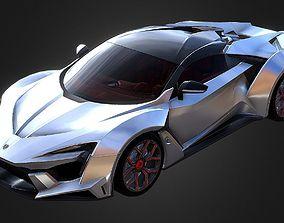 Fenyr SuperSport Super Sport Car 3D asset