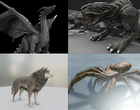 Game Ready Animals 3D model