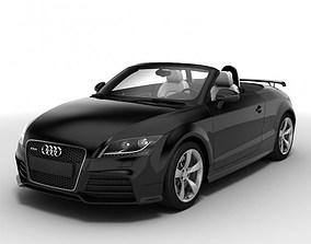 Audi TT RS Roadster 2010 3D