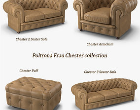 3D model Poltrona Frau Chester Collection