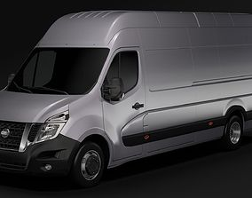 Nissan NV 400 L4H3 Van 2017 3D model