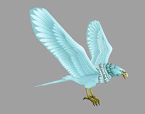 3D asset model eagle