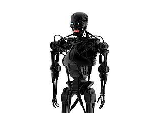Endoskeleton 3D asset