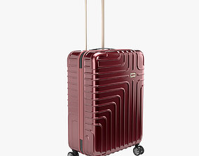 3D model John Lewis Suitcase 68cm Red