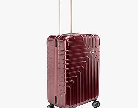 3D model John Lewis Suitcase 68cm Red
