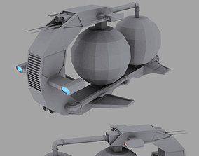 Gas Miner drone 3D model
