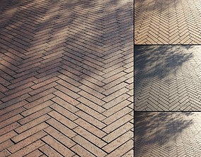 Clinker paving slabs Type 5 3D model