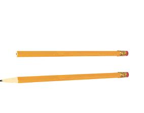3D model Pencil Sharp and Unsharp