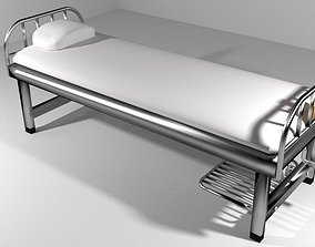3D model Hospital Furniture Patient Bed