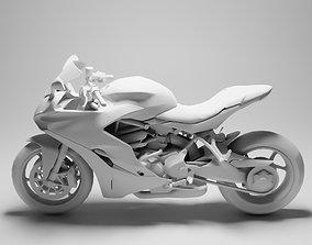 Ducati Supersport S 3D asset