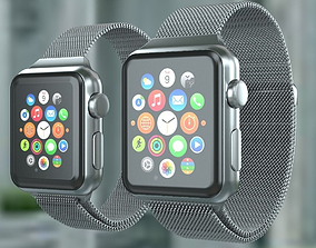 3D model Apple Watch Milanese Loop