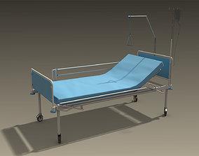 3D asset Hospital Bed