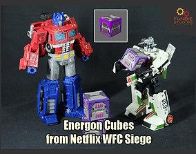 Energon Cubes from Netflix WFC Siege 3D printable model