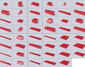 Lego Brick Collection - Version 2 3D model