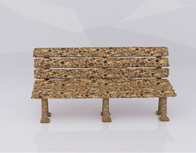 Granola Bench 3D