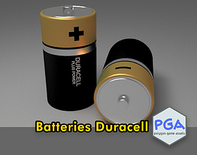 Battery 3D asset realtime