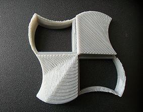 Logo test microsoft windows rework 3D printable model