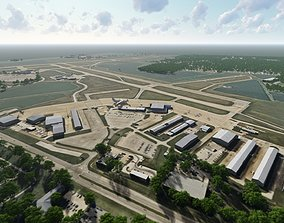 3D model Central Illinois Regional Airport at