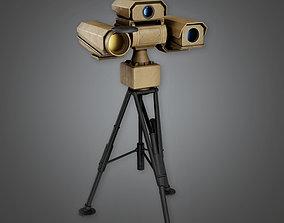 MLT - Military Infrared Camera Viewer - PBR Game 3D asset