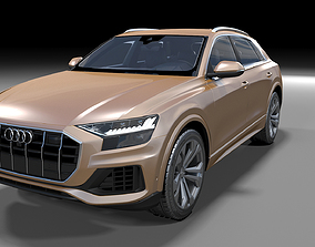 3D model AudiQ8 2019