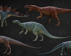3D asset Jurassic Pack