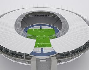 Olympic berlin Stadium HQ 3D model